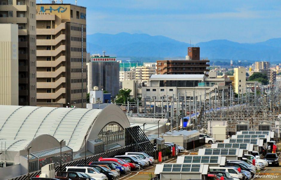 2014.08.05北陸新幹線W7系試験走行開始3