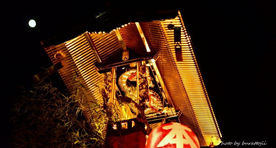 2014.09.11蛸島キリコ祭りの夜15