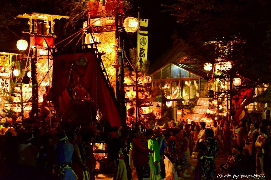 2014.09.11蛸島キリコ祭りの夜17