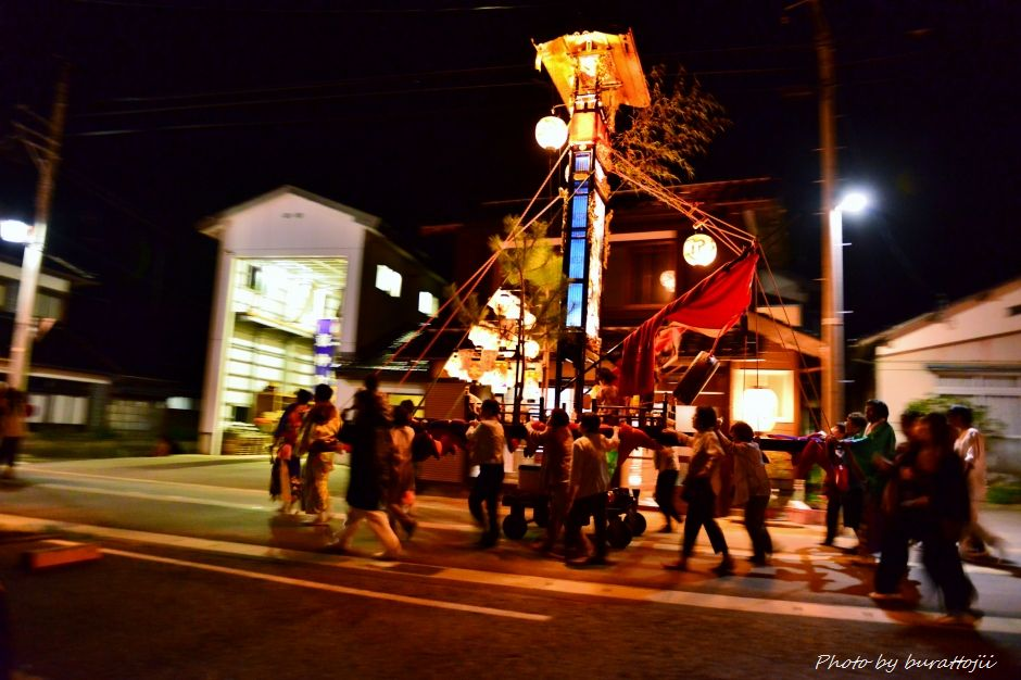 2014.09.11蛸島キリコ祭りの夜11