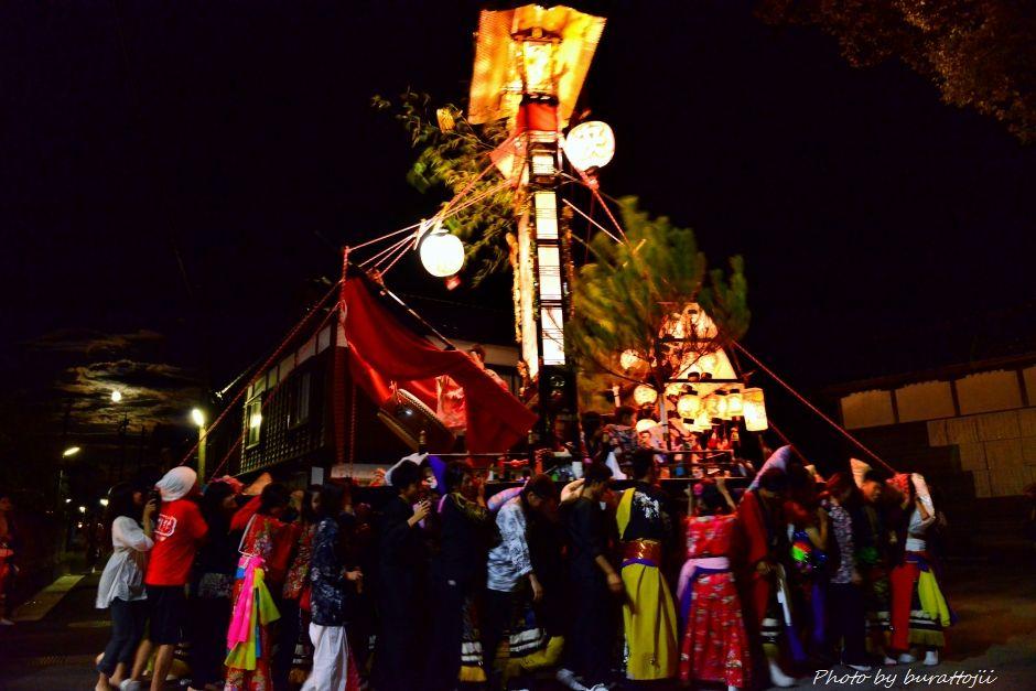 2014.09.11蛸島キリコ祭りの夜12