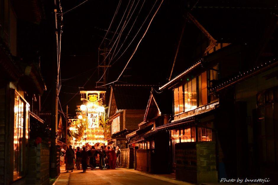 2014.09.11蛸島キリコ祭りの夜9