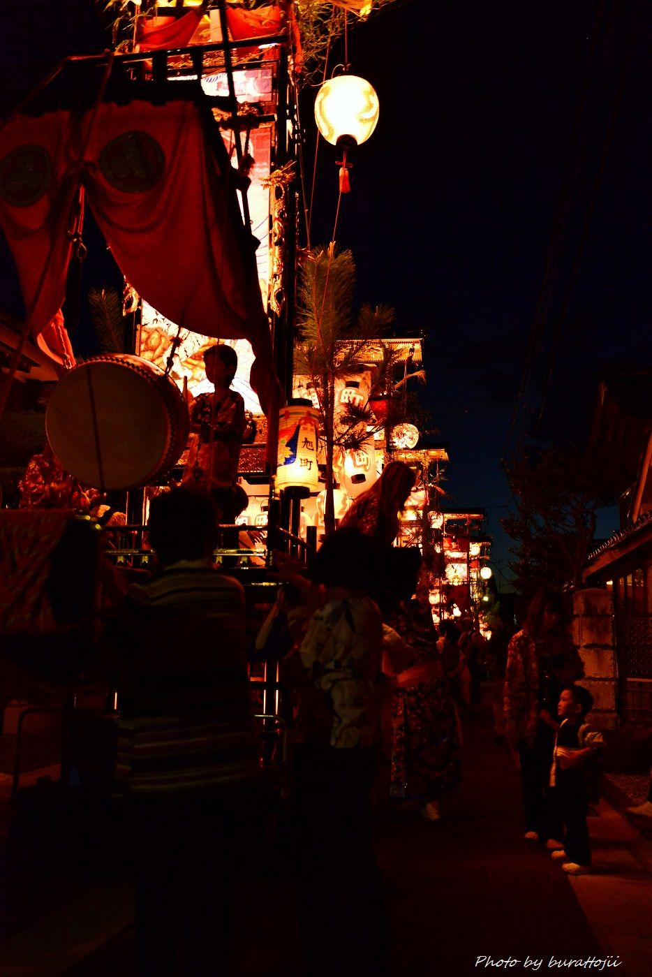 2014.09.11蛸島キリコ祭りの夜8