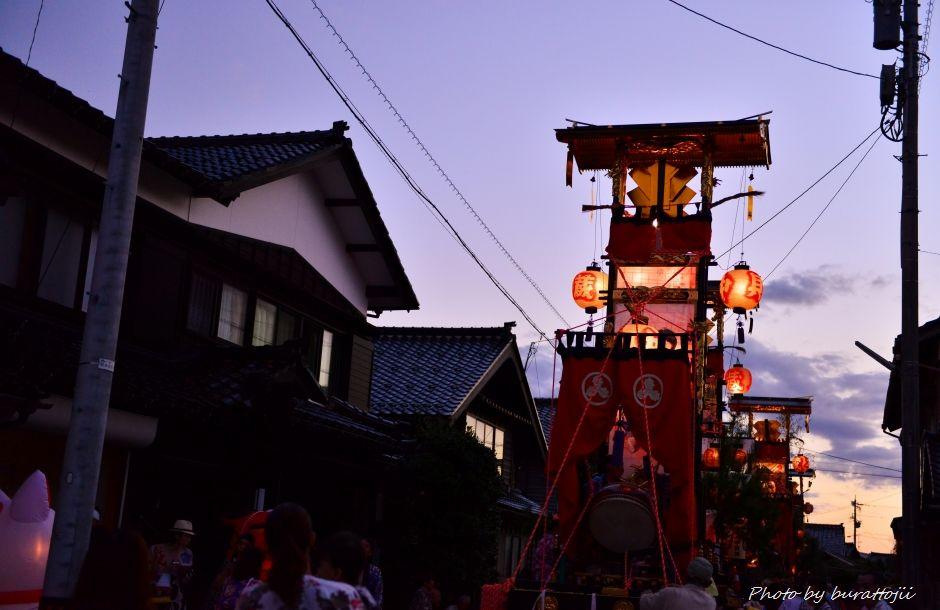 2014.09.11蛸島キリコ祭りの夜2