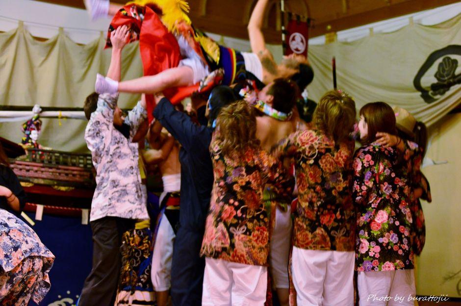 2014.09.11蛸島キリコ祭り早船狂言12