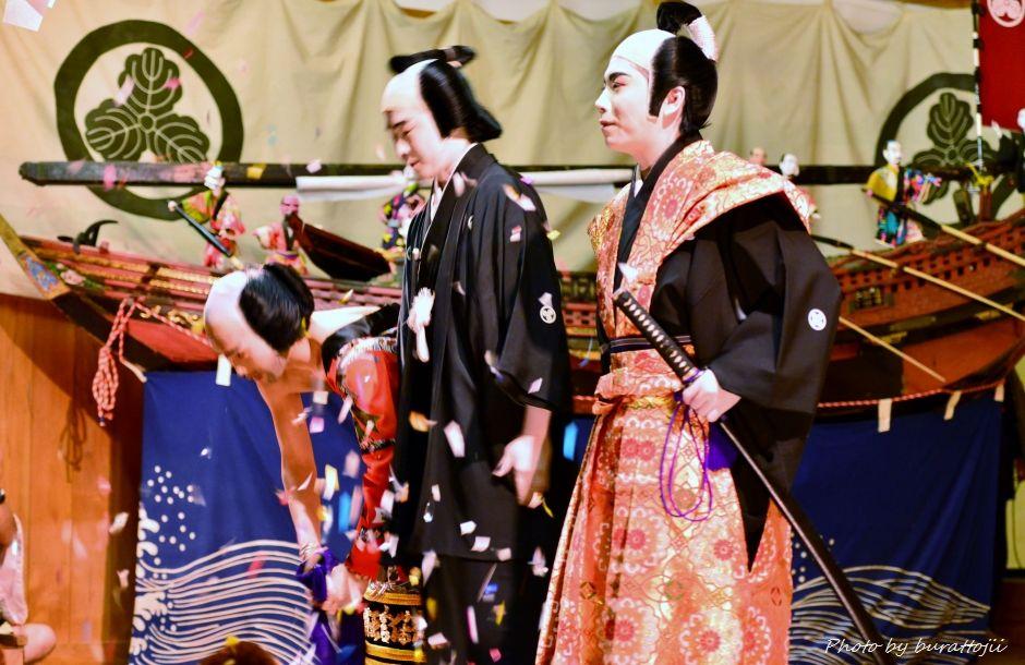 2014.09.11蛸島キリコ祭り早船狂言11