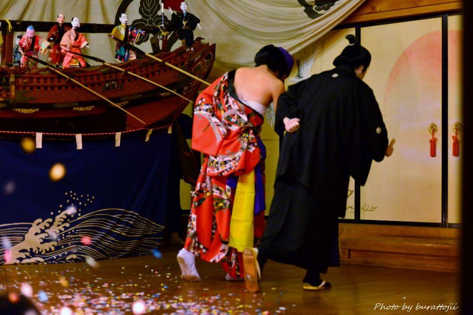 2014.09.11蛸島キリコ祭り早船狂言10