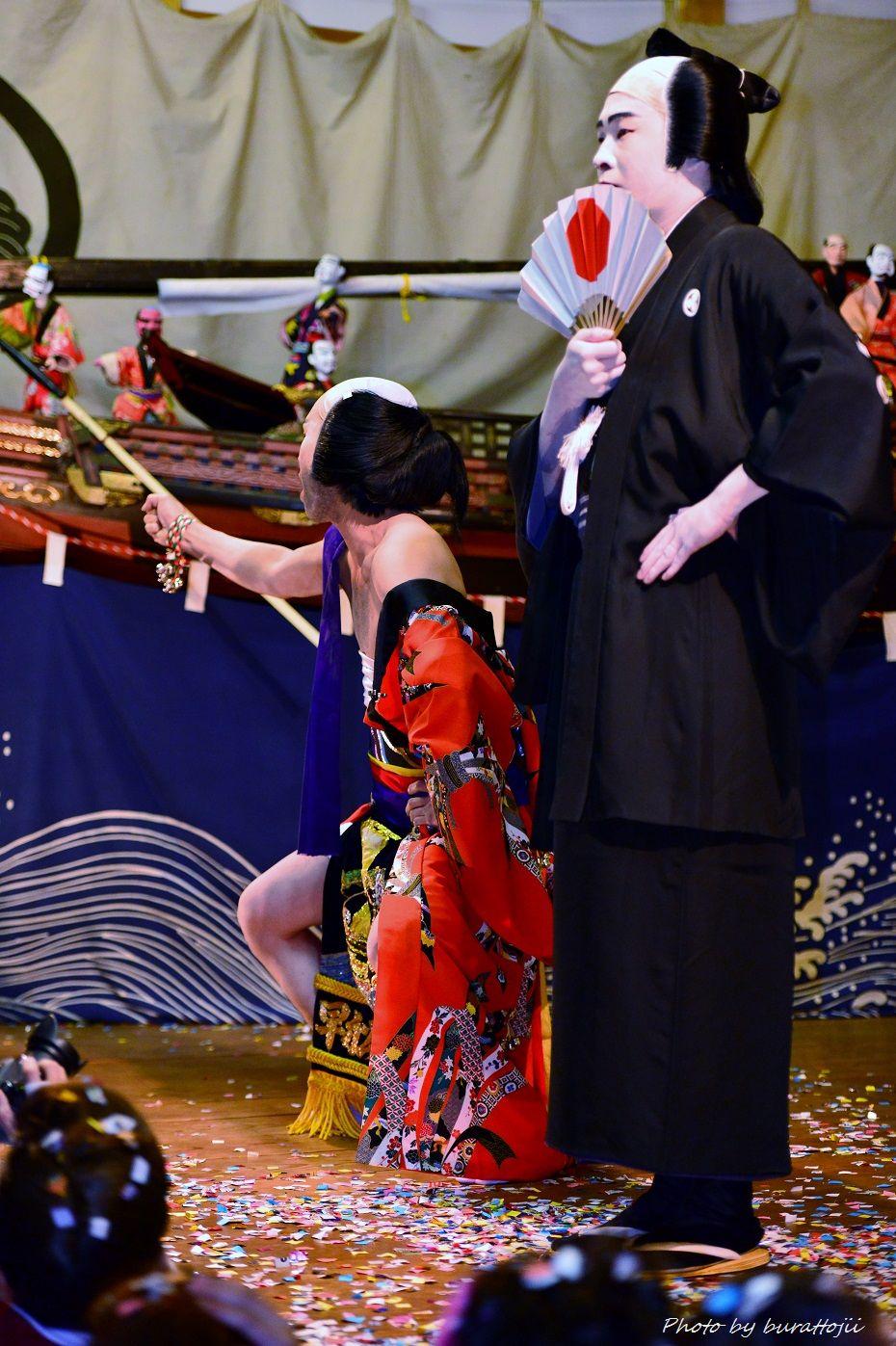 2014.09.11蛸島キリコ祭り早船狂言8