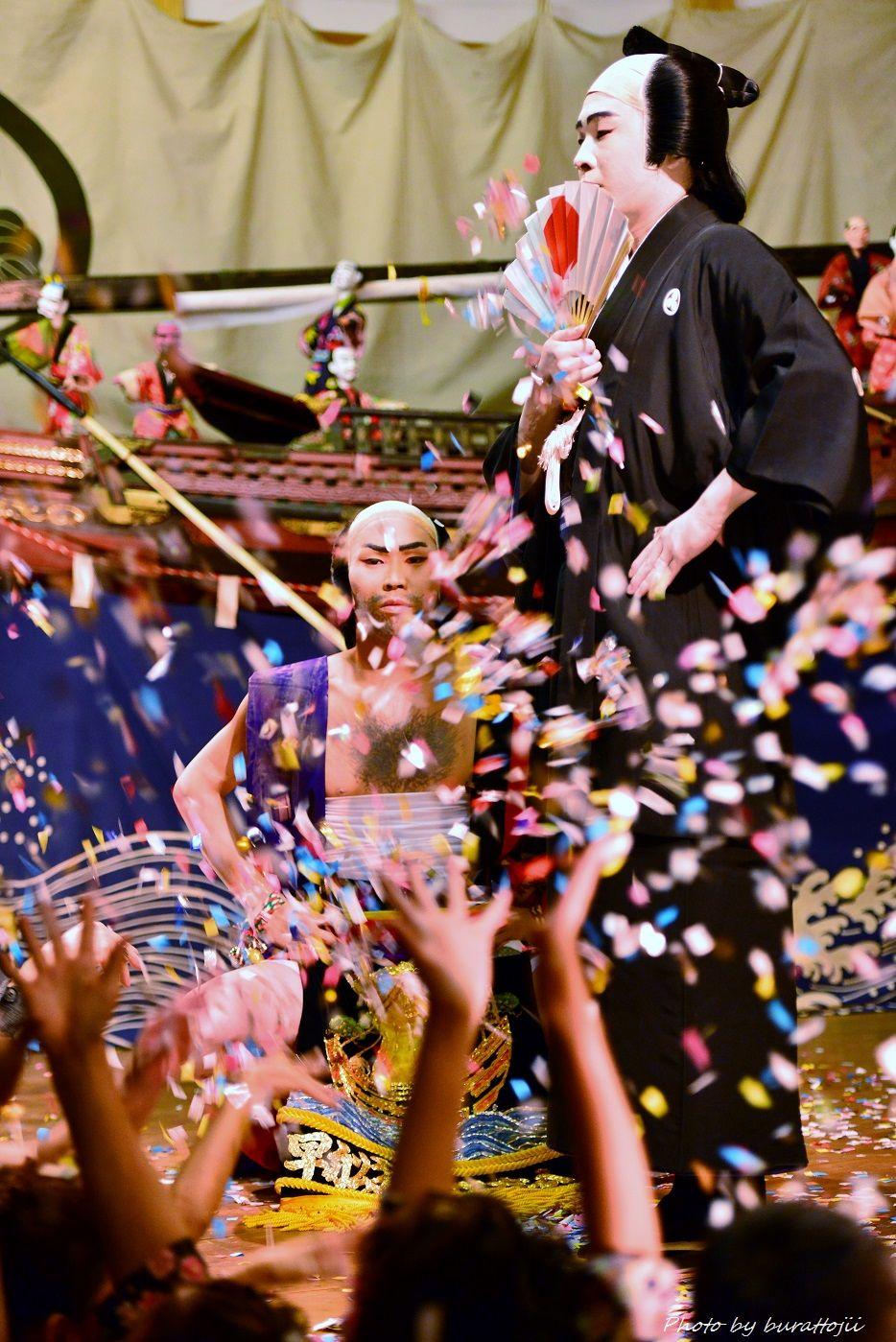 2014.09.11蛸島キリコ祭り早船狂言6