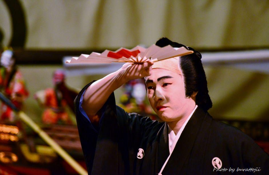 2014.09.11蛸島キリコ祭り早船狂言4