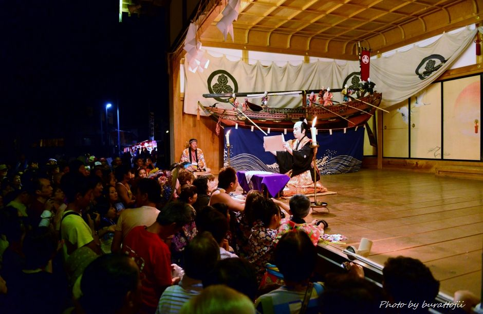 2014.09.11蛸島キリコ祭り早船狂言2