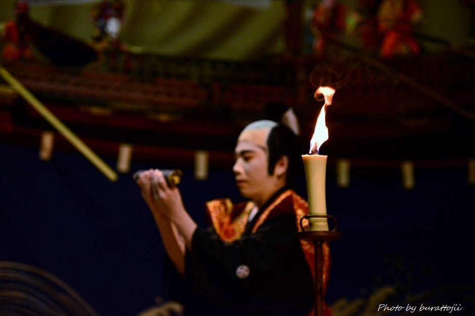 2014.09.11蛸島キリコ祭り早船狂言3