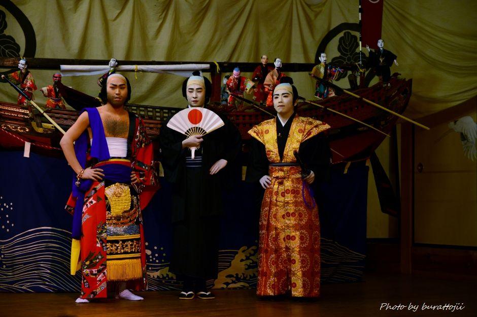 2014.09.11蛸島キリコ祭り早船狂言1