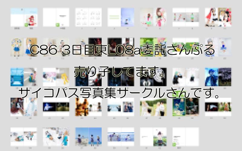 C86写真集さんぷる