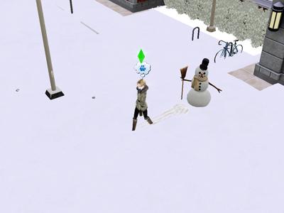 42日雪だるま