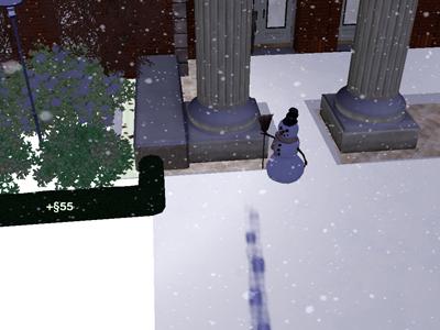 44日雪だるま