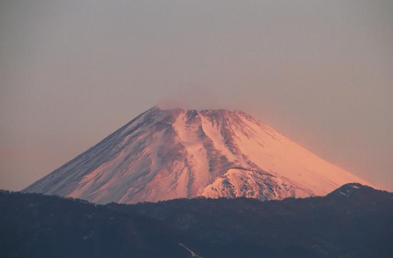 17日 6-35 今朝の富士山-3