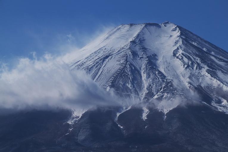 山中湖の新雪-963-2
