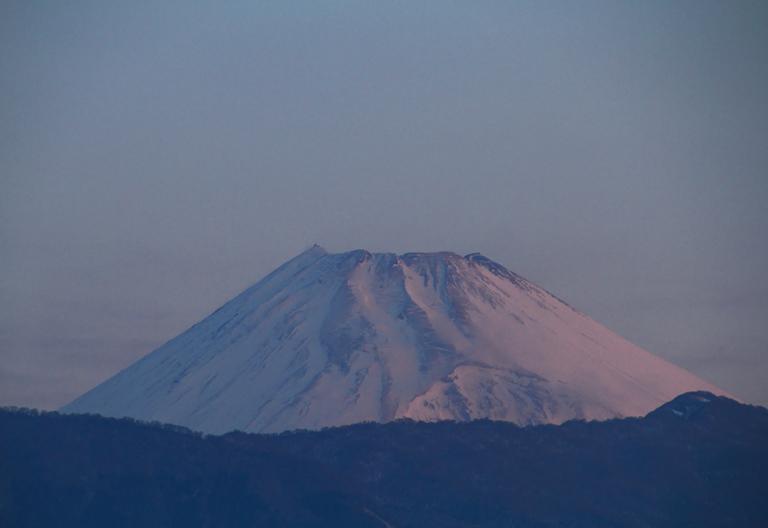 8日 6-07 今朝の富士山