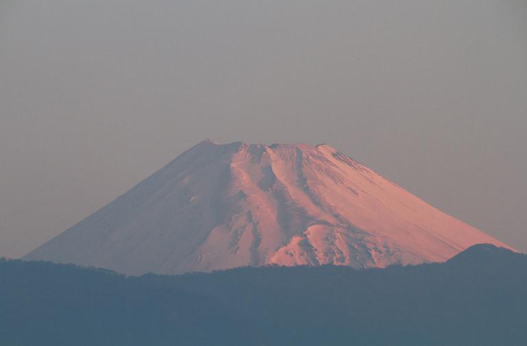 17日 5-58 今朝の富士山-2