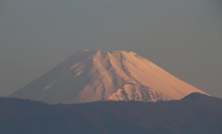 28日 6-05 今朝の富士山-3