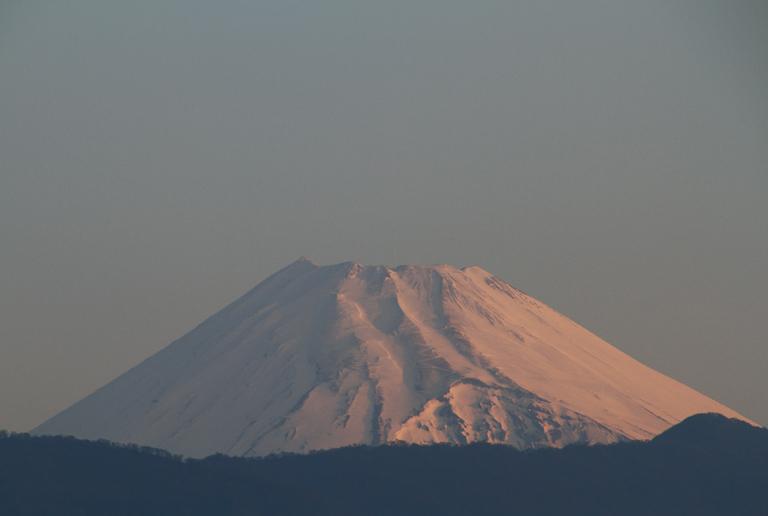 1日 5-44 今朝の富士山