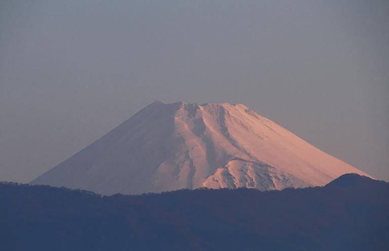 8日 5-40 今朝の富士山-1