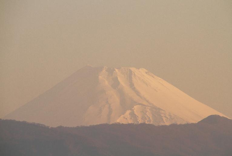 9日 5-45 今朝の富士山-2