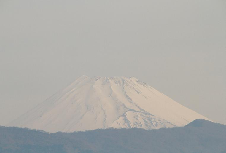 13日 6-50 今朝の富士山1-2