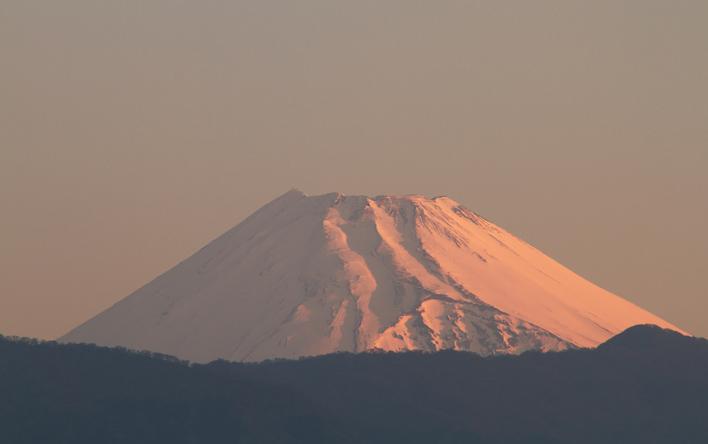 15日 5-21 今朝の富士山