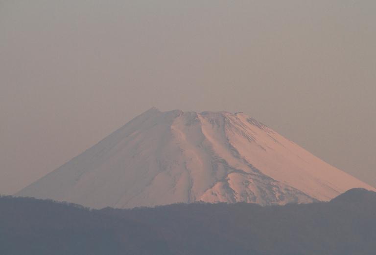 16日 5-28 今朝の富士山