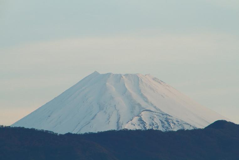 22日 5-21 今朝の富士山-1