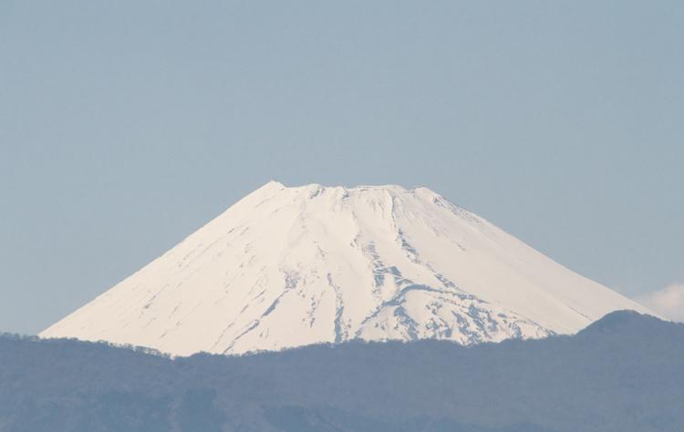 27日 13-54 今日の富士山