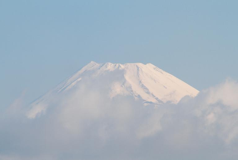 9日 6-53 今朝の富士山
