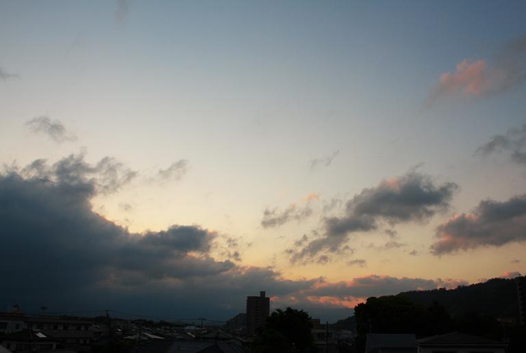 9日 5-07 東の空-2