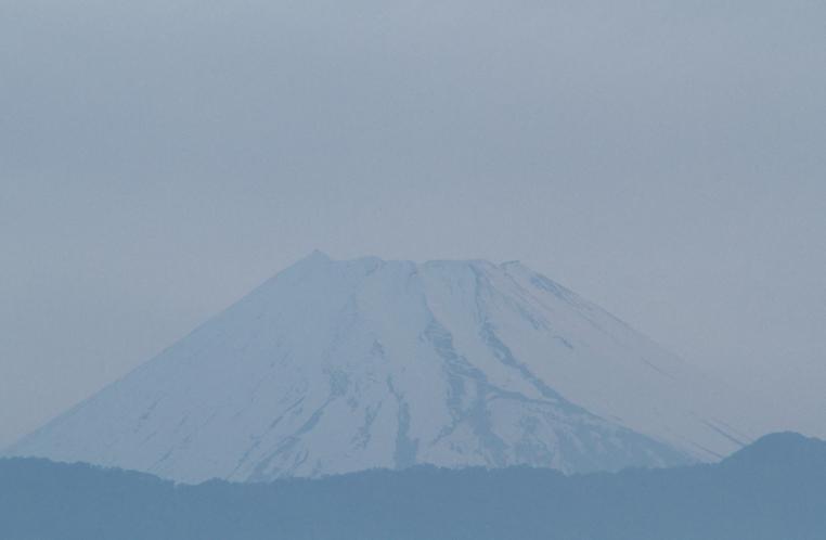 14日 4-45 今朝の富士山-4
