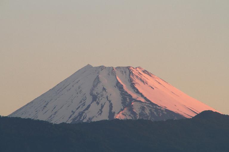 17日 4-43 今朝の富士山-2
