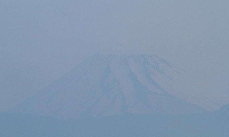 20日 4-43 今朝の富士山-4
