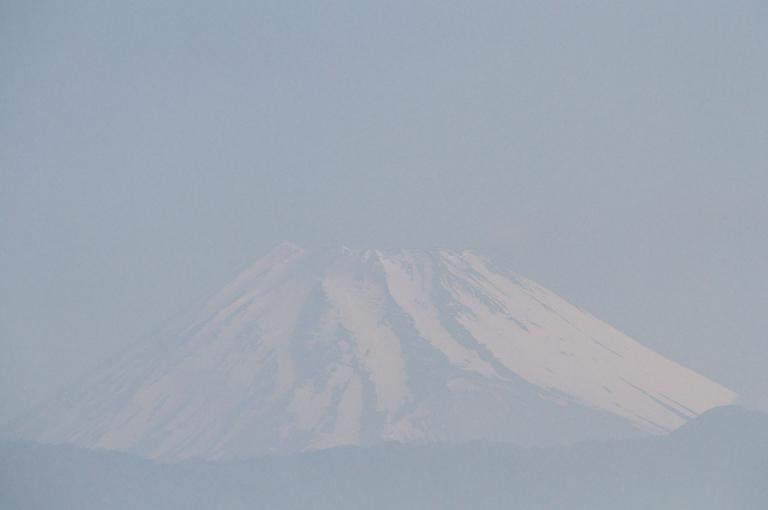 29日 6-53 今朝の富士山1