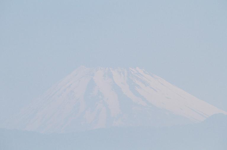 1日 7-40 今朝の富士山-3