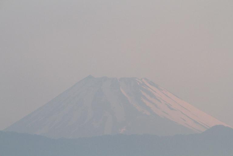 10日 4-47 今朝の富士山