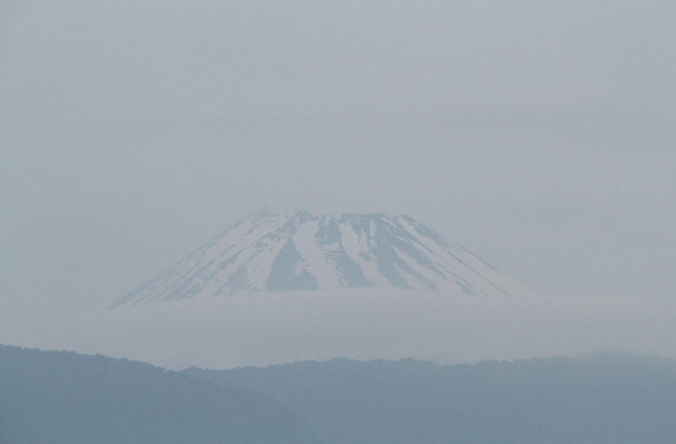 11日 4-45 今朝の富士山-3