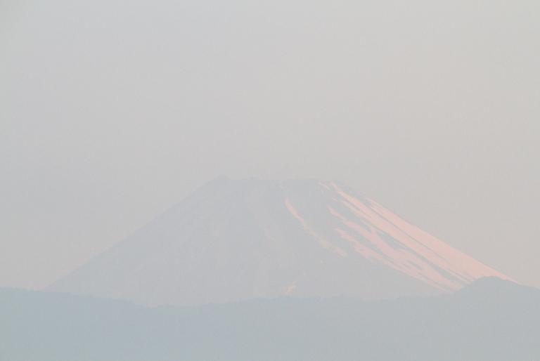 16日 4-53 今朝の富士山-2