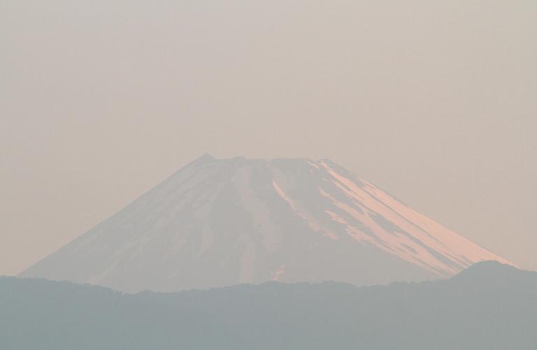 19日 4-47 今朝の富士山-7