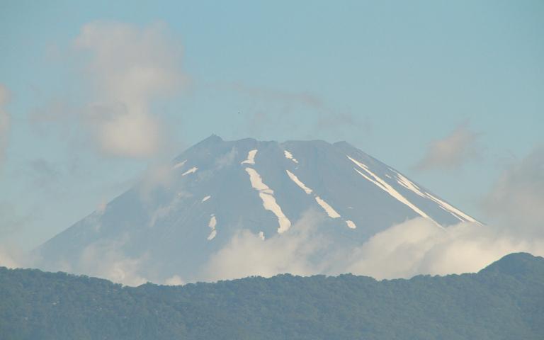 12日 6-56 今朝の富士山