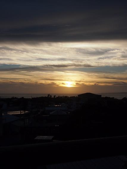 瀬底の夕日 (2)