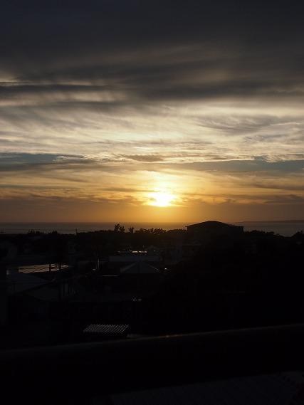 瀬底の夕日 (1)