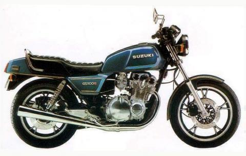 Suzuki GS 1100G 82 1