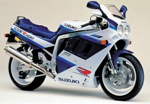 Suzuki GSXR1100 90 4