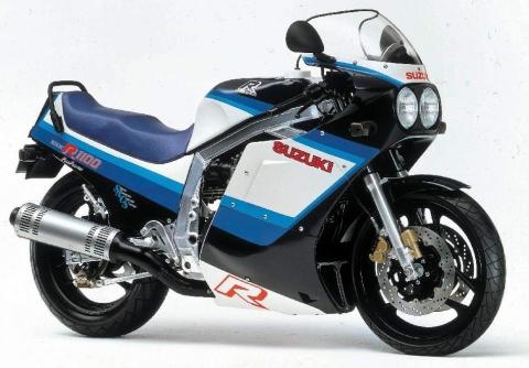 Suzuki GSXR1100 86 3